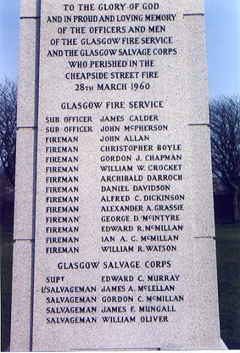 cheapside fire memorial